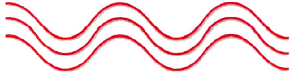 röd laser våglängd